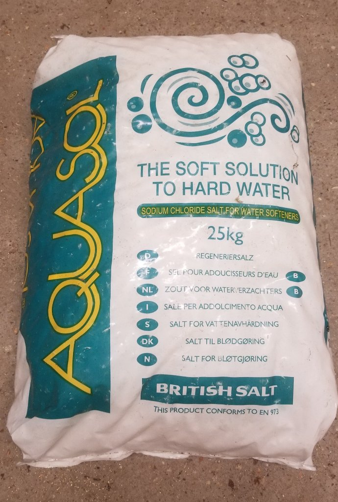 Granular Salt for Dishwashers/Water Softeners